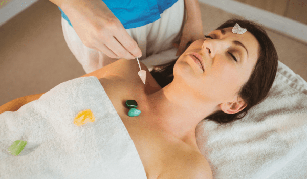 Crystal therapy, or crystal healing, is an approach to medicine that works primarily via crystals' movement.